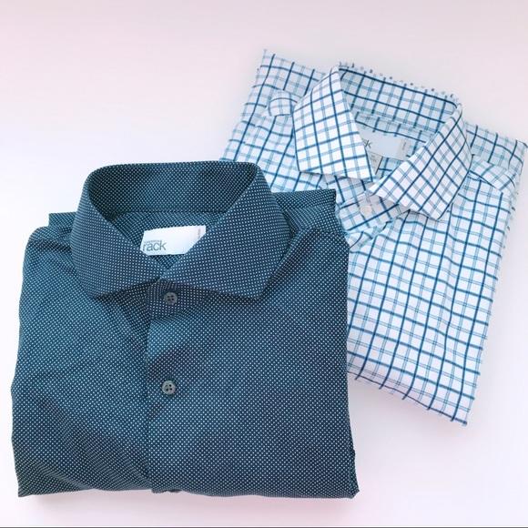 39d6b0810dd2 Nordstrom Shirts   Polka Dot And Checkered Dress For Men   Poshmark